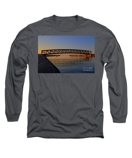 Channel Sunset Long Sleeve T-Shirt