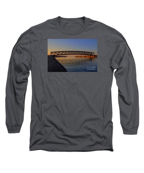 Channel Sunset Long Sleeve T-Shirt