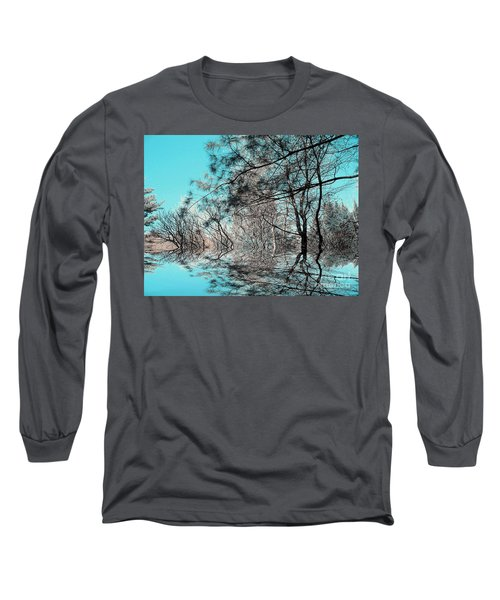 Long Sleeve T-Shirt featuring the photograph Chaos  by Elfriede Fulda