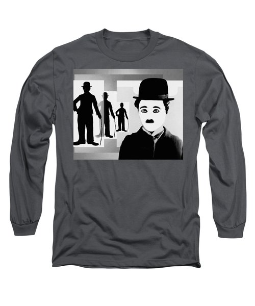 Chaplin, Charlie Chaplin Long Sleeve T-Shirt