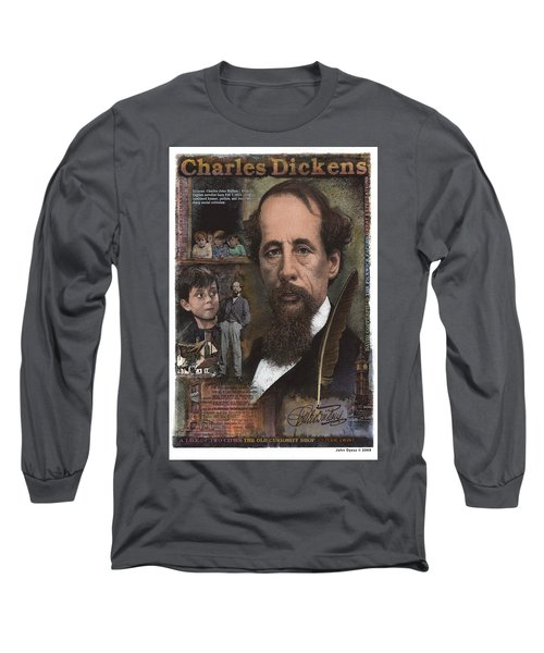 Charles Dickens Long Sleeve T-Shirt