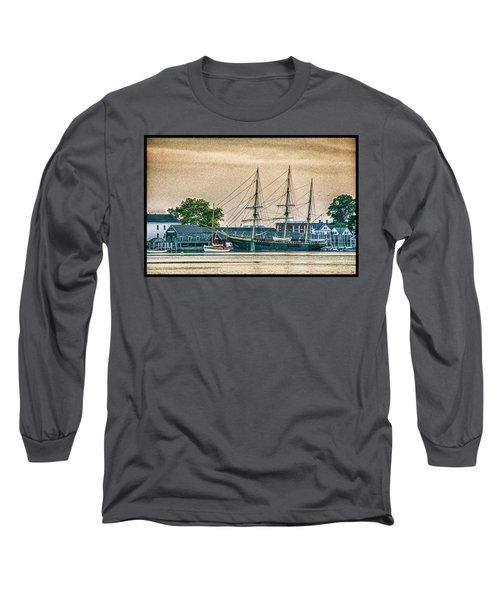 Charles W. Morgan #1 Long Sleeve T-Shirt