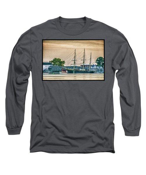 Charles W. Morgan #1 Long Sleeve T-Shirt