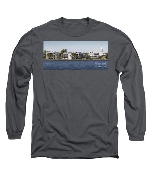 Charleston Battery Row Panorama 2 Long Sleeve T-Shirt