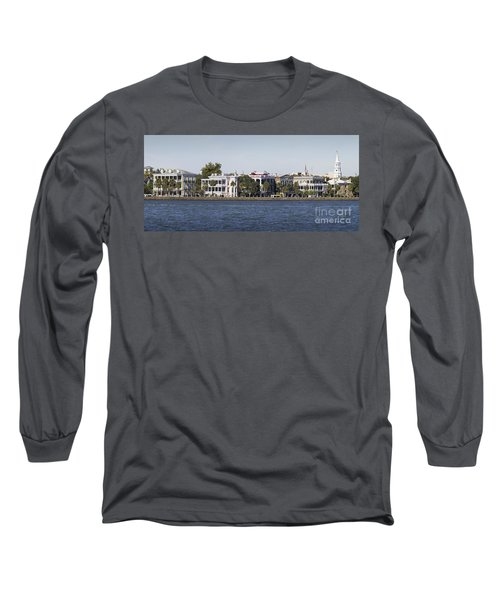 Charleston Battery Row Panorama 2 Long Sleeve T-Shirt