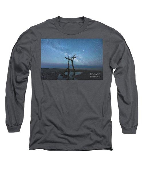 Charleston Milkyway Long Sleeve T-Shirt by Robert Loe