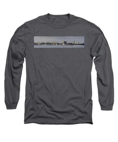 Charleston Sc Panorama Long Sleeve T-Shirt