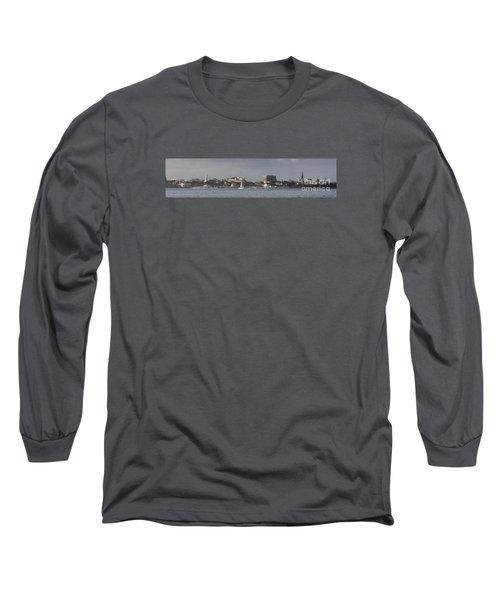 Charleston Sc Panorama Long Sleeve T-Shirt