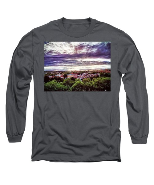 Charm City Sunset Long Sleeve T-Shirt