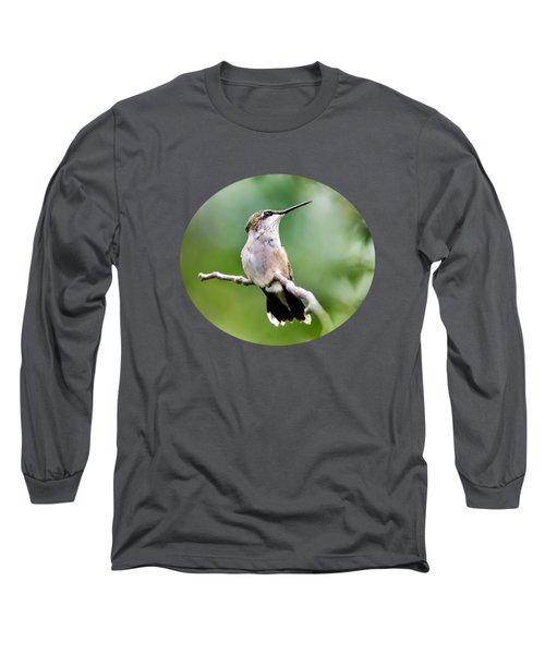 Charming Hummingbird Long Sleeve T-Shirt