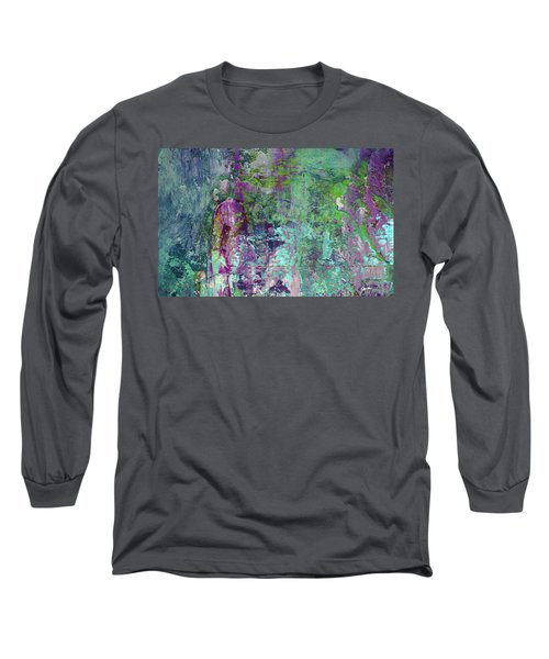 Chasing The Dream - Contemporary Colorful Abstract Art Painting Long Sleeve T-Shirt