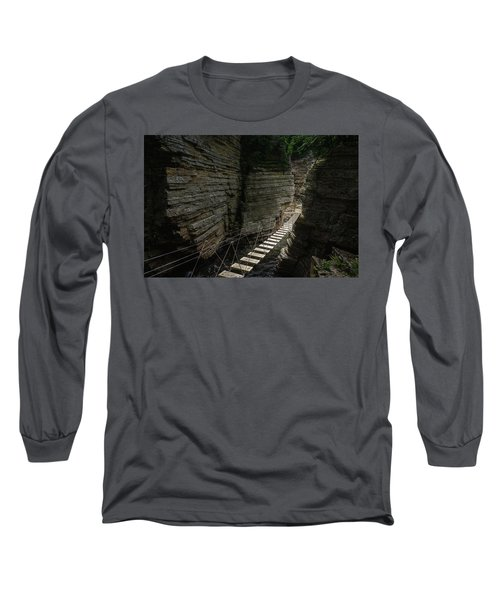 Chasm Bridge Long Sleeve T-Shirt