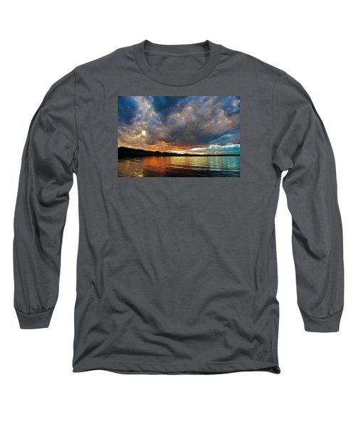 Chatfield Technicolor Sunset Long Sleeve T-Shirt