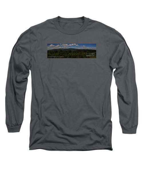 Chattahoochee Forest Overlook Long Sleeve T-Shirt by Barbara Bowen