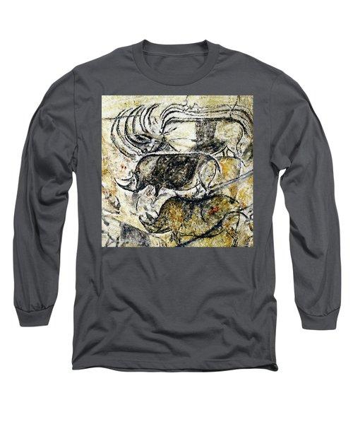 Chauvet Three Rhinoceros Long Sleeve T-Shirt