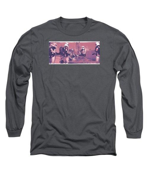 Checkpoint Long Sleeve T-Shirt by Kurt Ramschissel