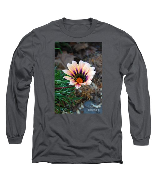 Long Sleeve T-Shirt featuring the photograph Cheerful Flower by Debra Thompson