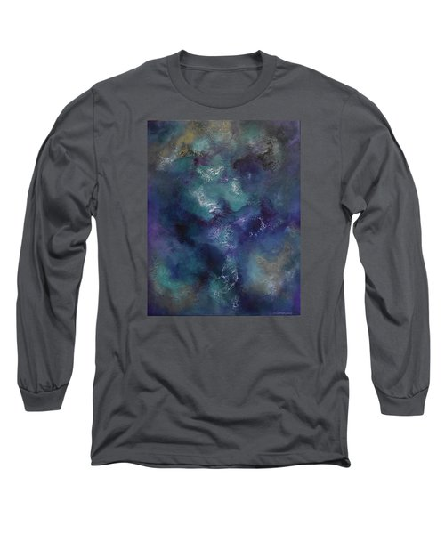 Long Sleeve T-Shirt featuring the painting Cheers by Tamara Bettencourt