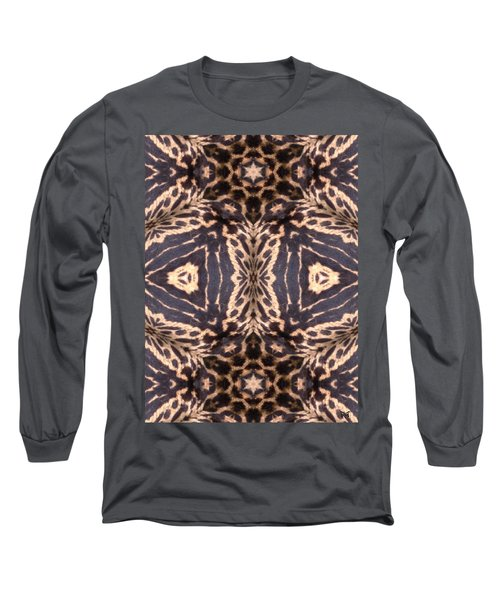 Cheetah Print Long Sleeve T-Shirt by Maria Watt