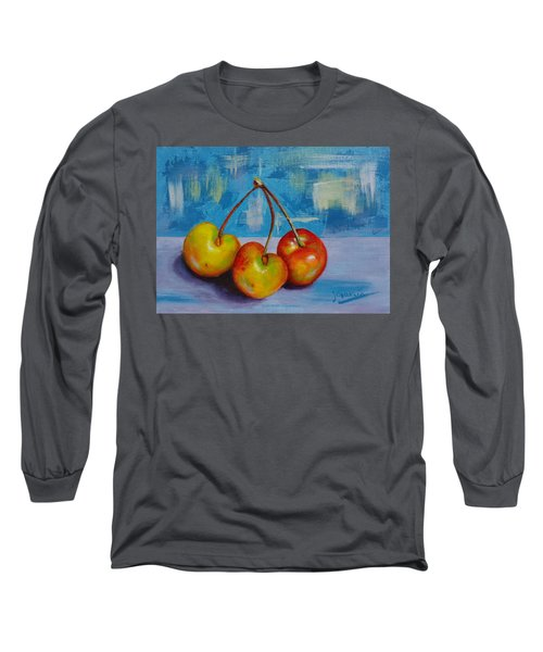 Cherries Trio Long Sleeve T-Shirt