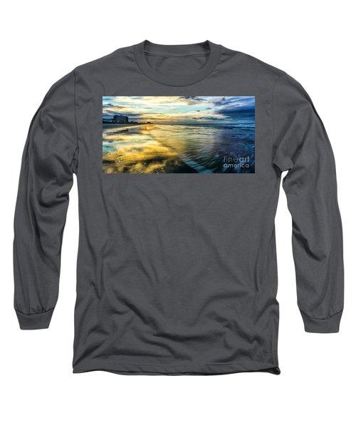 Cherry Grove Golden Shimmer Long Sleeve T-Shirt