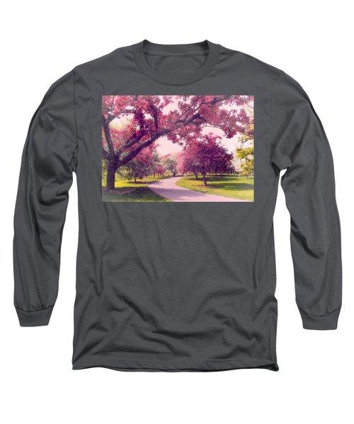 Cherry Orchard Charm Long Sleeve T-Shirt
