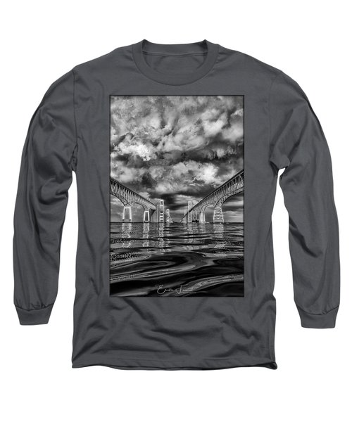 Chesapeake Bay Bw Long Sleeve T-Shirt