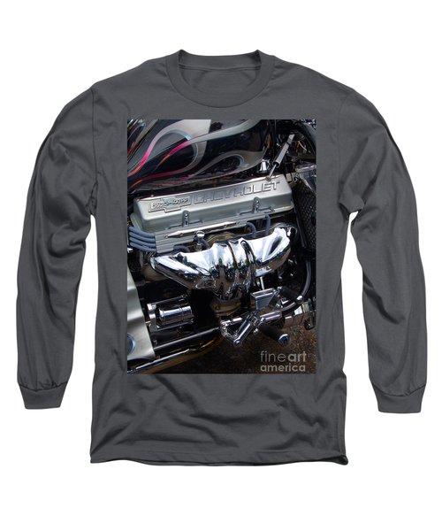 Chevrolet 400 Hp  Long Sleeve T-Shirt by Diane E Berry