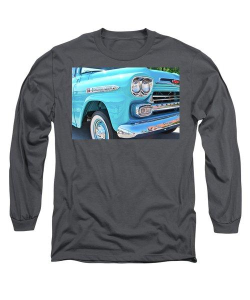 Chevrolet Apache Truck Long Sleeve T-Shirt
