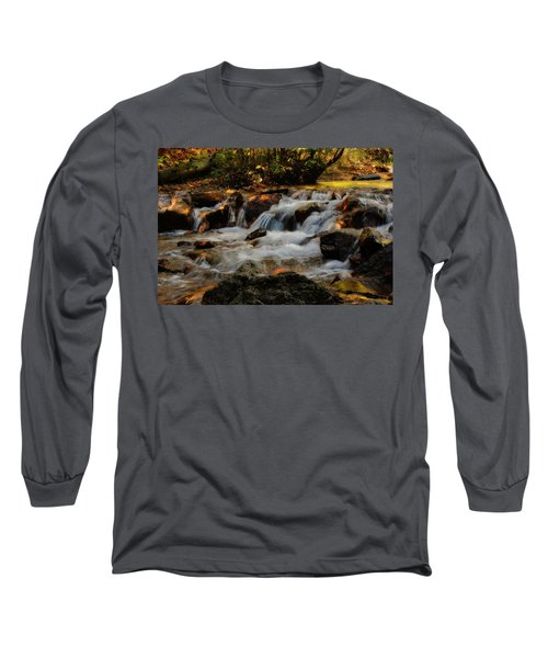 Long Sleeve T-Shirt featuring the photograph Cheyenne Canyon Autumn by Ellen Heaverlo