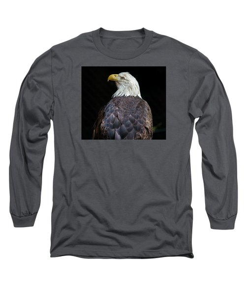 Cheyenne The Eagle Long Sleeve T-Shirt by Greg Nyquist