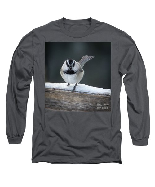 Chic At Big Springs Wildlife Art By Kaylyn Franks Long Sleeve T-Shirt