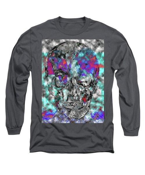 Chic Skull Long Sleeve T-Shirt