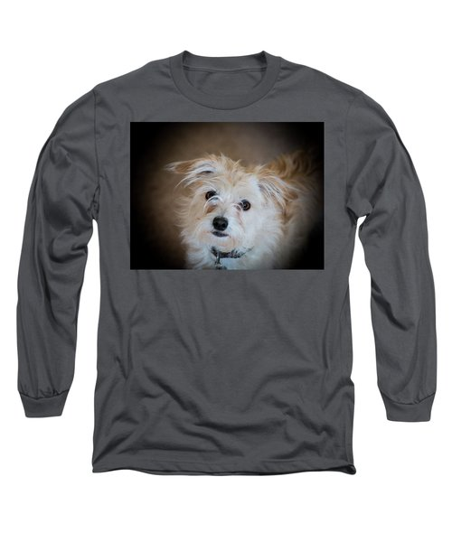 Chica On The Alert Long Sleeve T-Shirt