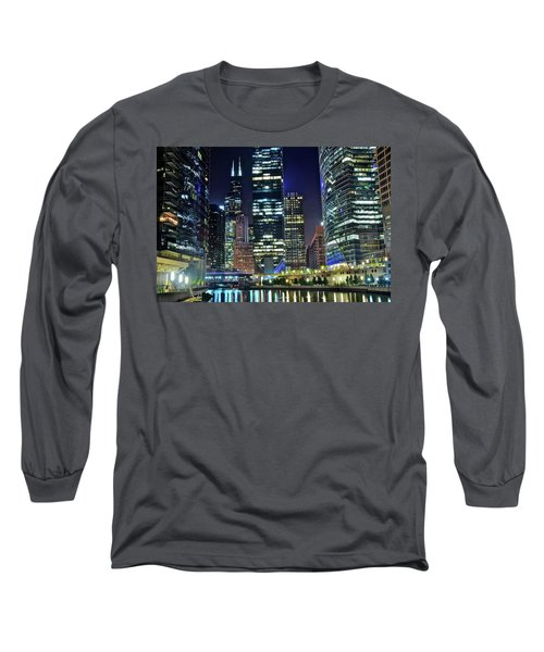 Chicago 2017 Full Moon Long Sleeve T-Shirt