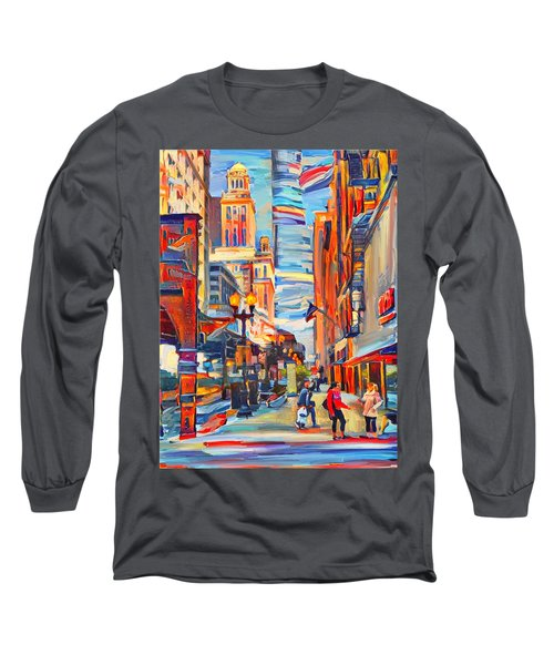 Chicago Colors 4 Long Sleeve T-Shirt