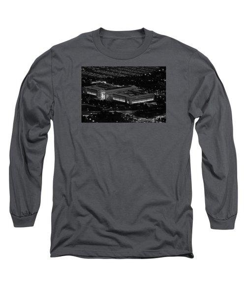 Chicago Field Museum Bw Long Sleeve T-Shirt