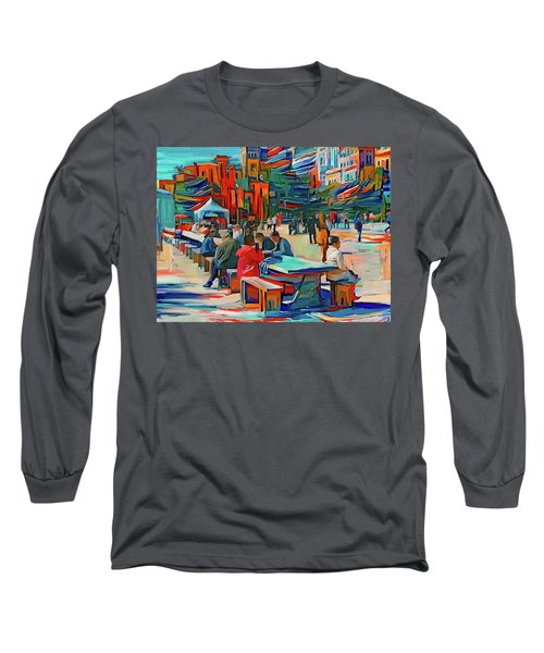 Chicago Millennium Sunday Long Sleeve T-Shirt