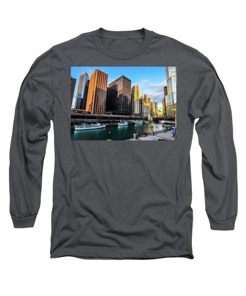 Chicago Navy Pier Long Sleeve T-Shirt