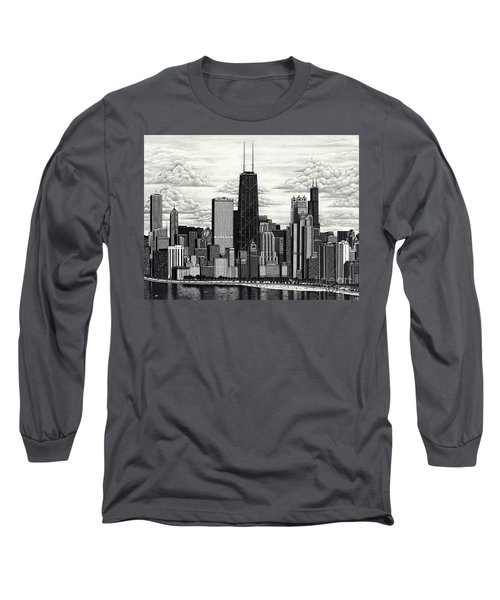 I Love Chicago Volume 1 Long Sleeve T-Shirt