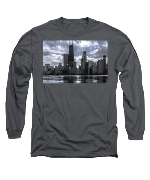 Chicago Skyline Ver3 Long Sleeve T-Shirt