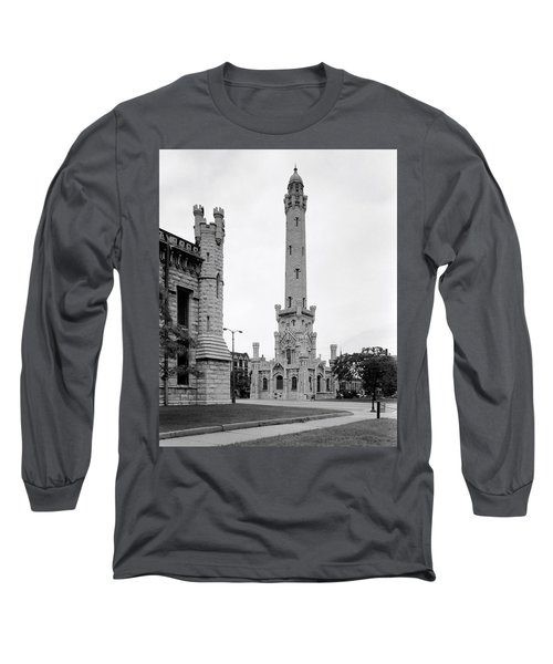 Chicago Water Tower 1933 Long Sleeve T-Shirt