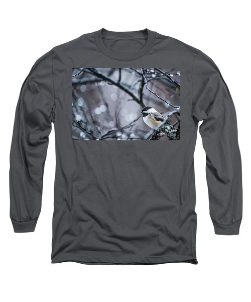 Chickadee Rain Long Sleeve T-Shirt