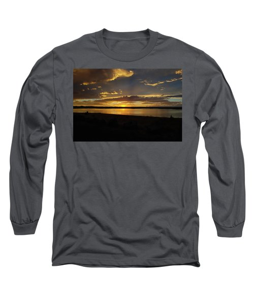 Chickahominy  Long Sleeve T-Shirt by Linda Larson