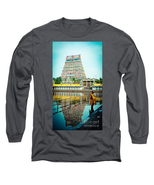 Chidambaram Temple Lord Shiva India Long Sleeve T-Shirt