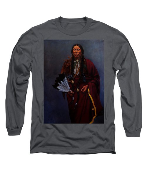 Chief Quanah Parker Long Sleeve T-Shirt