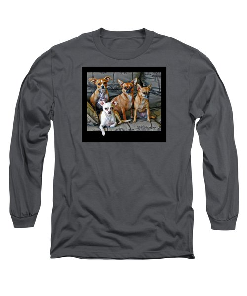 Chihuahuas Hanging Out Long Sleeve T-Shirt