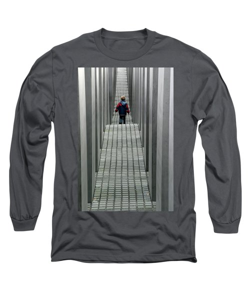 Child In Berlin Long Sleeve T-Shirt