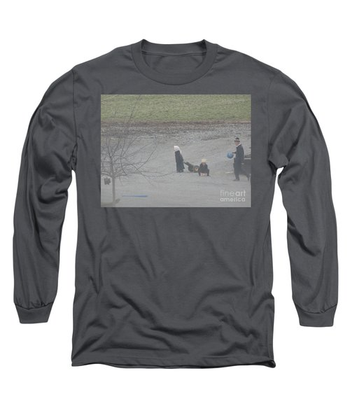 Children At Play Long Sleeve T-Shirt
