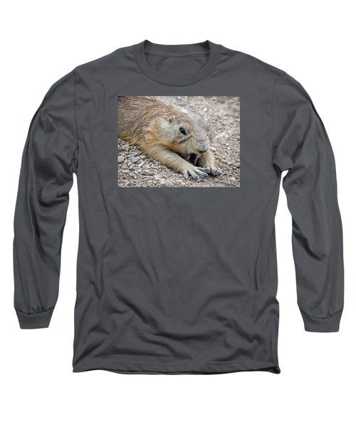 Chillin' Prairie Dog Long Sleeve T-Shirt